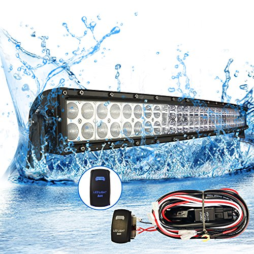 Mictuning 42 Curved 240w Cree Led Light Bar Combo 17000lm